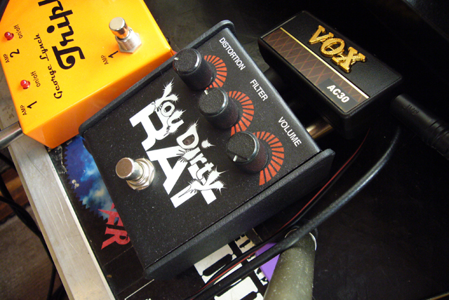 Proco You Dirty RAT+VOX amplug(AC30)